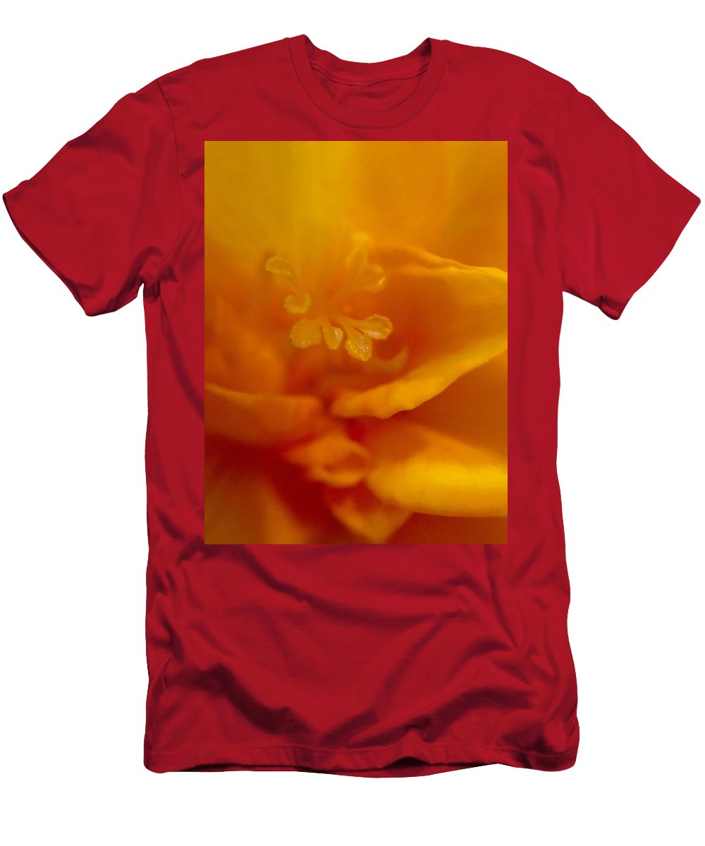 Freesia Men's T-Shirt (Athletic Fit) featuring the digital art Freesia IIi by Susan Dietz