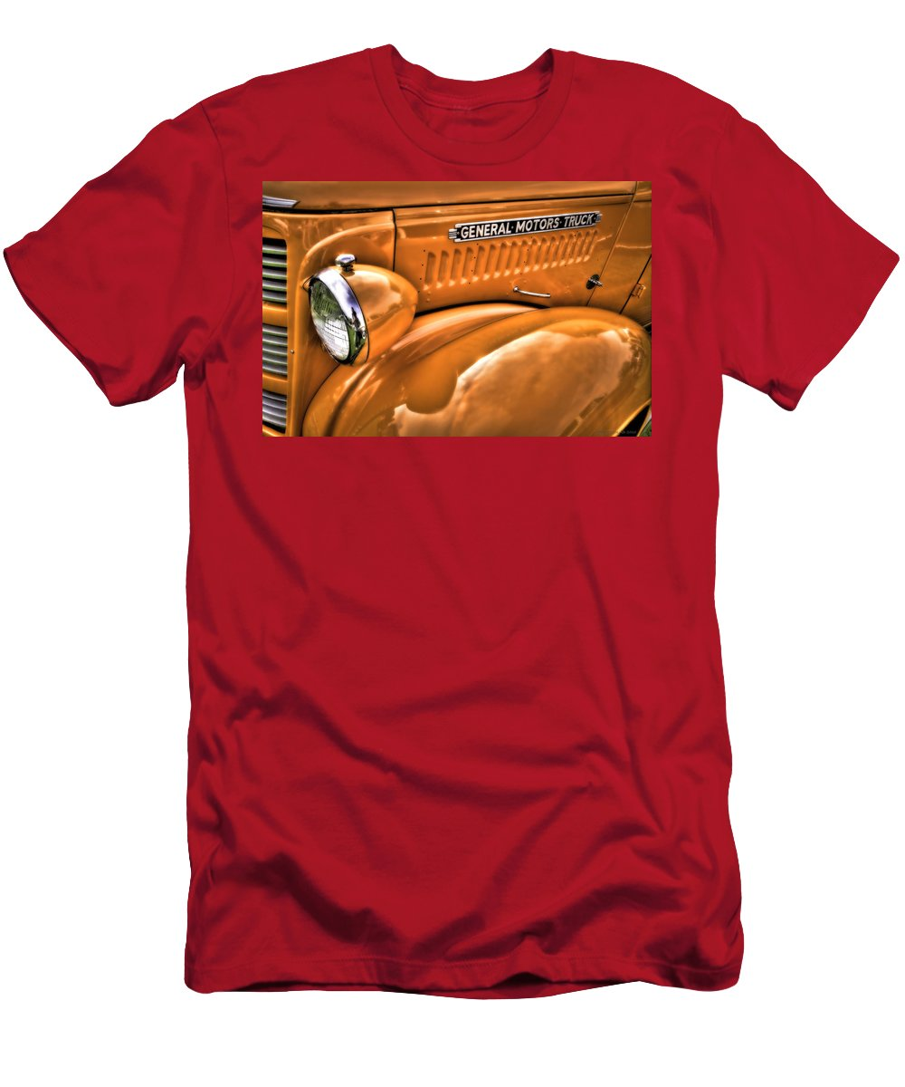 Transportation Men's T-Shirt (Athletic Fit) featuring the photograph General by Jerry Golab