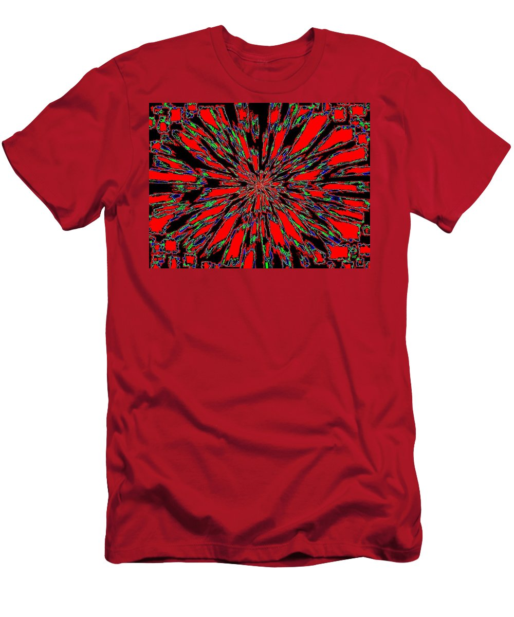 Abstract T-Shirt featuring the digital art Harmony 37 by Will Borden