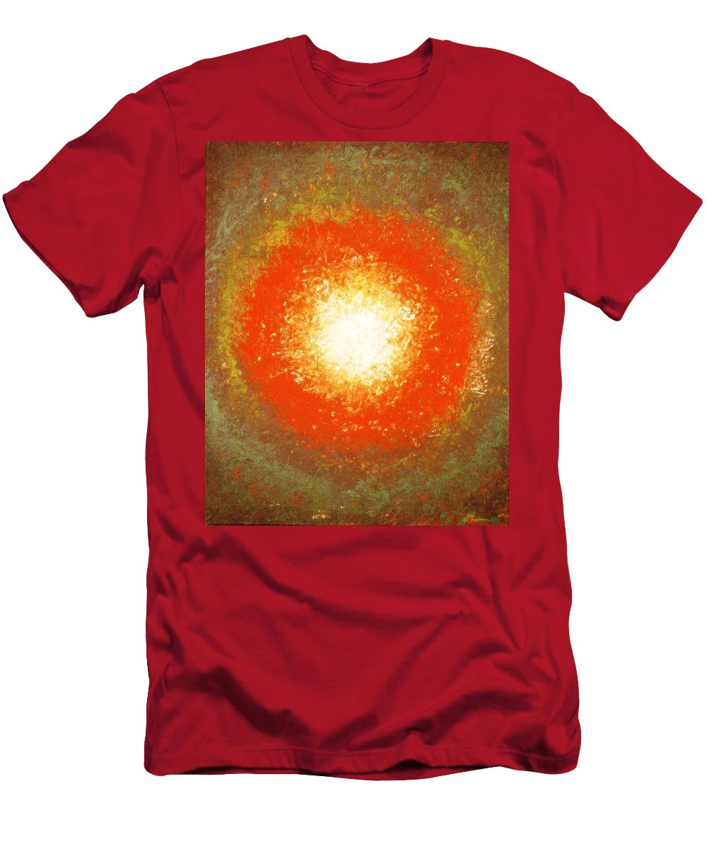 Original Men's T-Shirt (Athletic Fit) featuring the painting Inception by Todd Hoover
