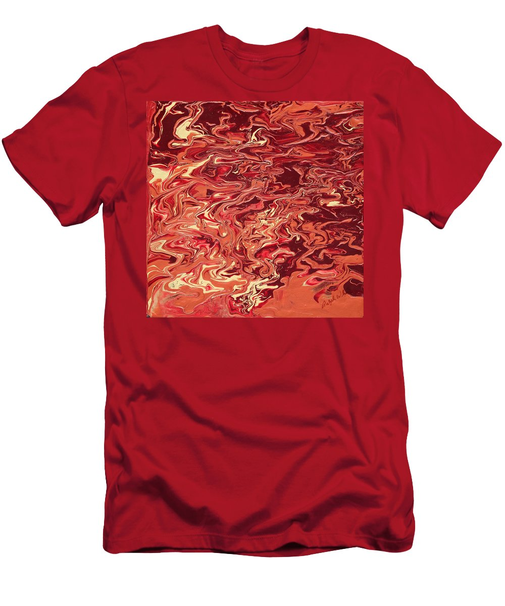 Fusionart T-Shirt featuring the painting Indulgence by Ralph White
