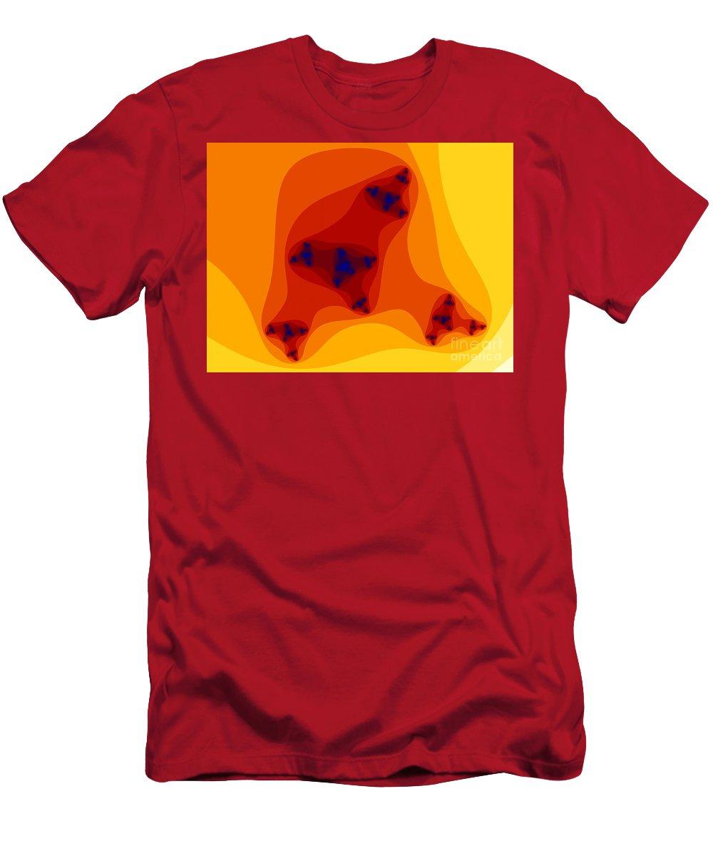 Fractal Art T-Shirt featuring the digital art Inner Infinity by Ron Bissett