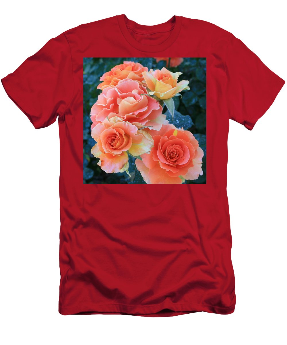 Jacob's Coat Men's T-Shirt (Athletic Fit) featuring the photograph Jacob by Marna Edwards Flavell