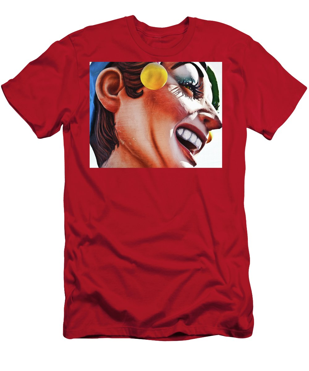 Jester Men's T-Shirt (Athletic Fit) featuring the photograph Jester by Kathleen K Parker