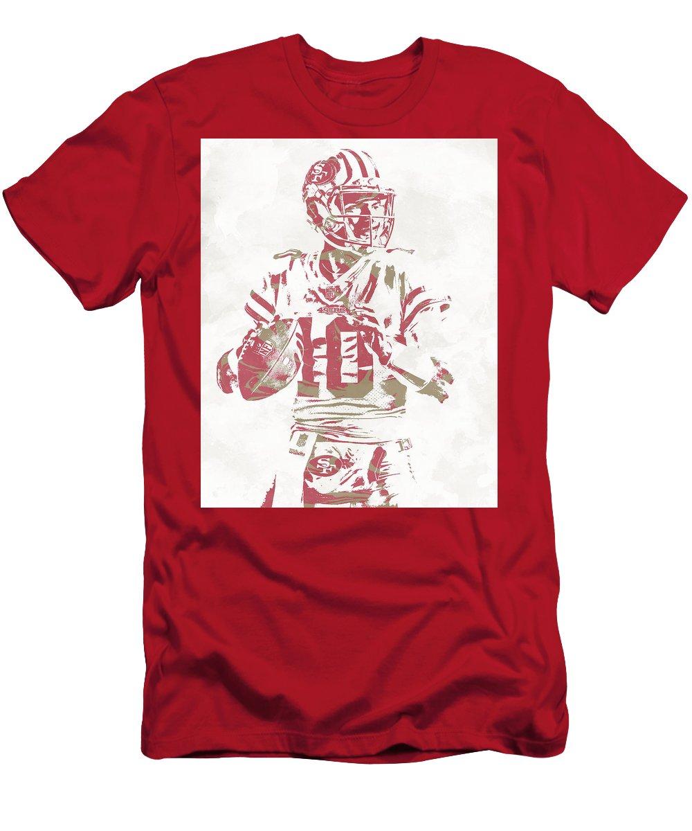 bb781d04b Jimmy Garoppolo San Francisco 49ers Pixel Art 10 T-Shirt for Sale by Joe  Hamilton