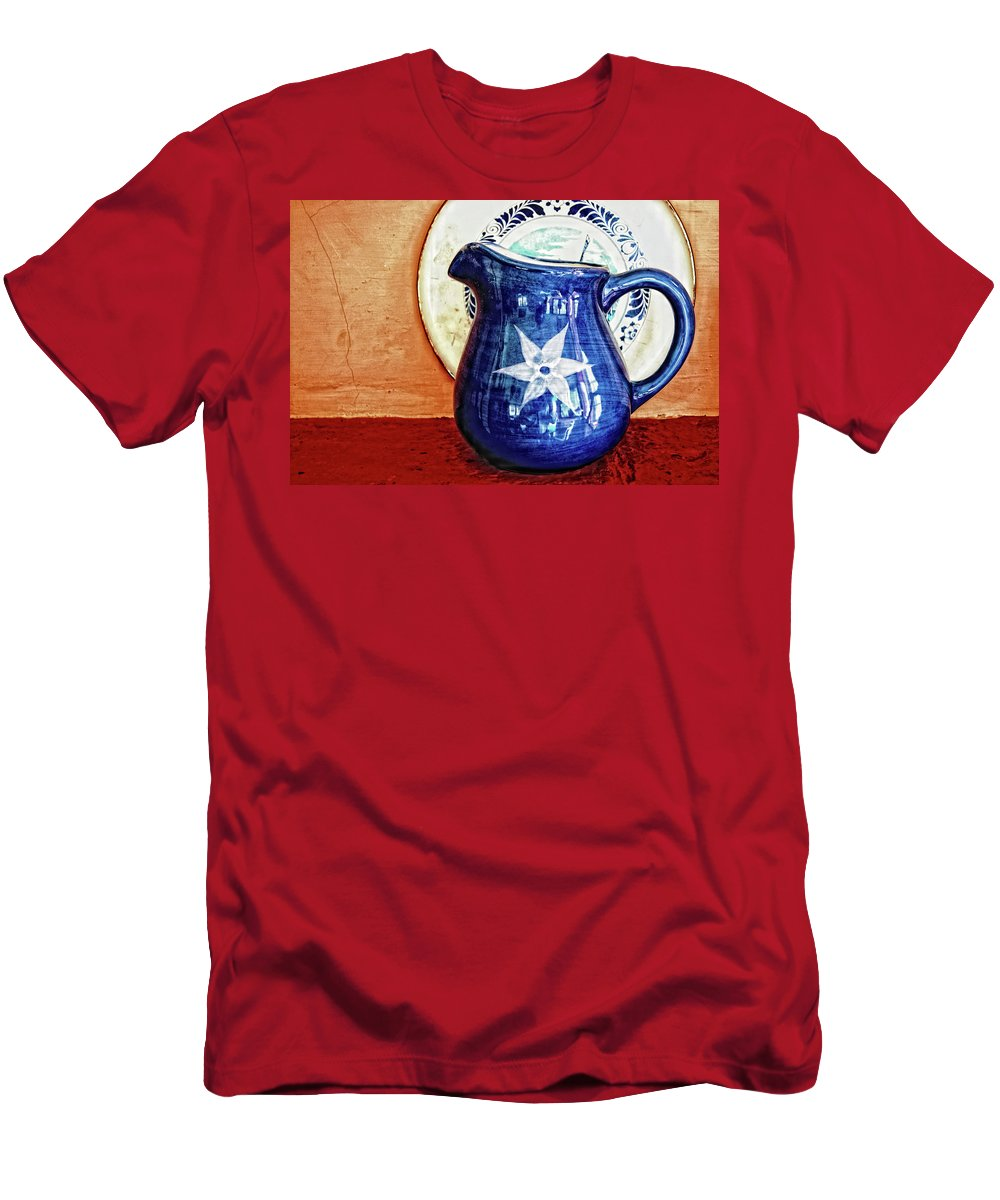 Jug Men's T-Shirt (Athletic Fit) featuring the photograph Jug by Charuhas Images