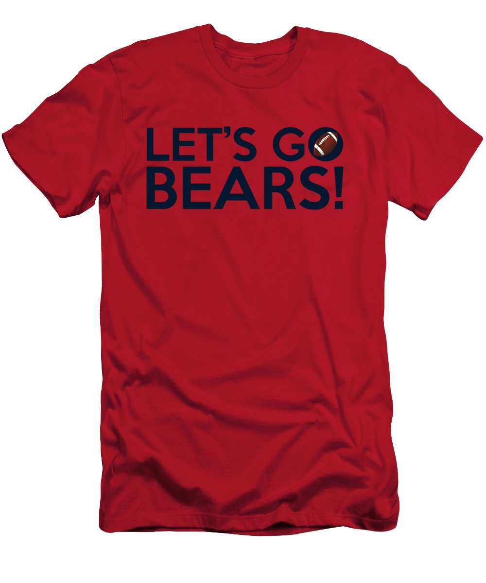 sports shoes 05076 1c6a8 Let's Go Bears Men's T-Shirt (Athletic Fit)