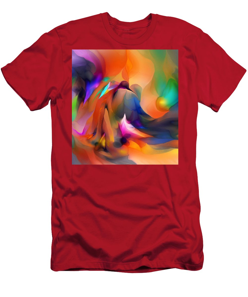 Fine Art T-Shirt featuring the digital art Letting Go by David Lane