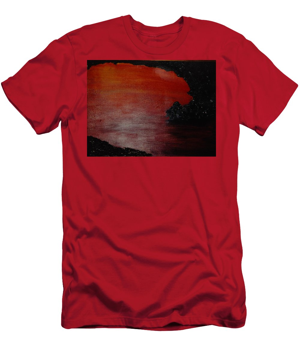 Painting Men's T-Shirt (Athletic Fit) featuring the photograph Lori's World by Rob Hans