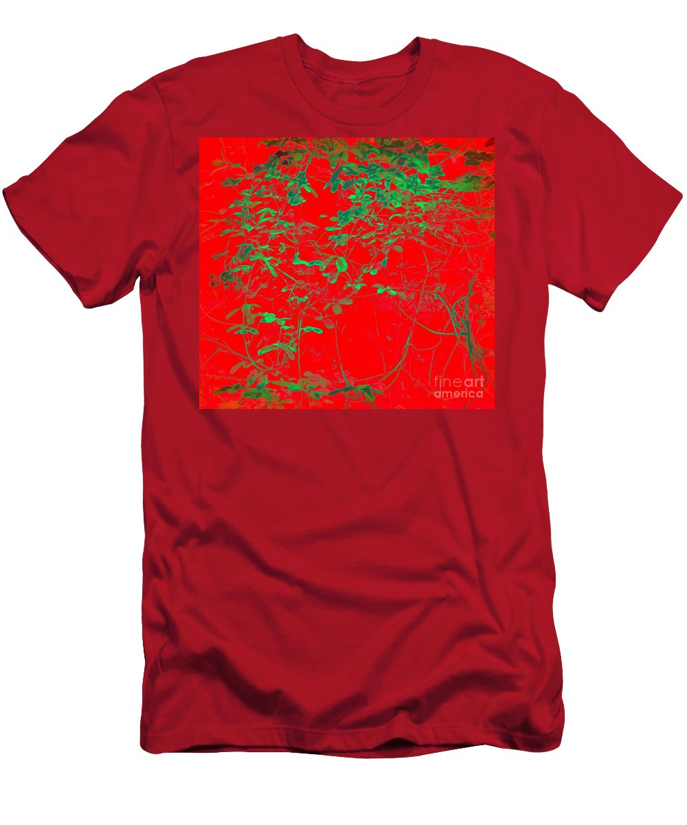Photography Men's T-Shirt (Athletic Fit) featuring the photograph Ming Vinesty by Nancy Kane Chapman