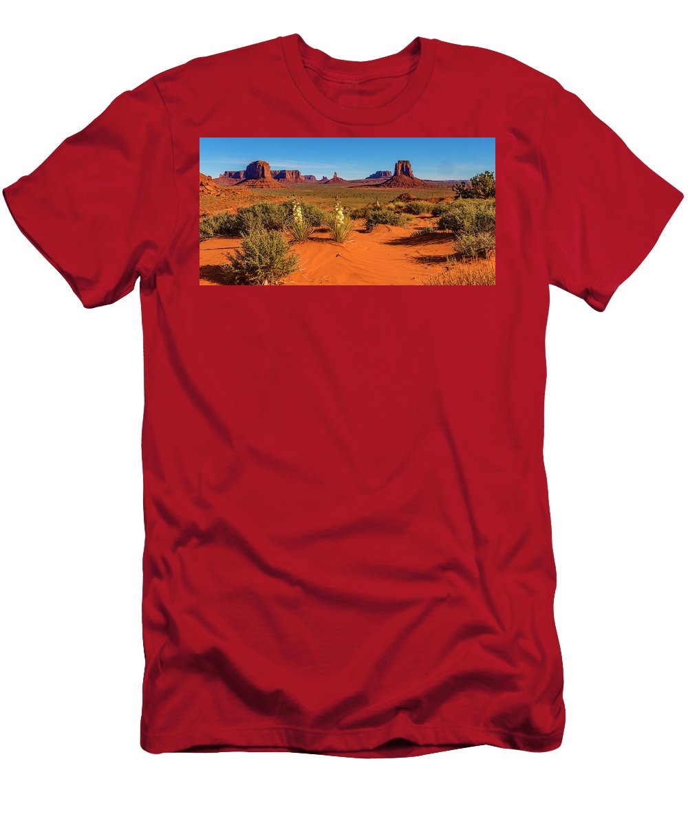 Monument Valley T-Shirt featuring the photograph Monument Valley by Norman Hall