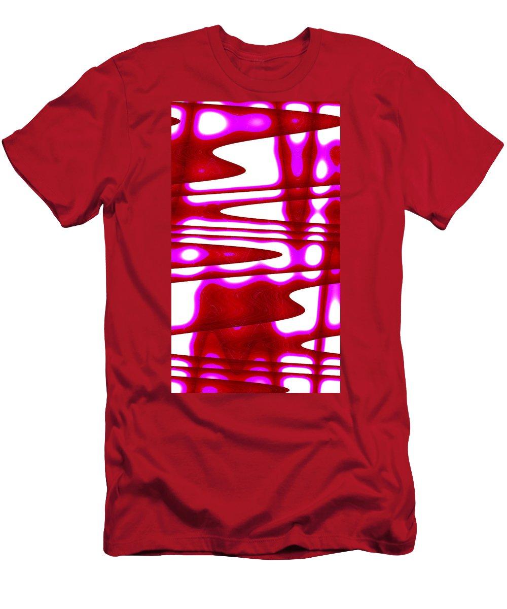 Moveonart! New York / San Francisco / Oklahoma / Portland / Missoula Jacob Kanduch Men's T-Shirt (Athletic Fit) featuring the digital art Moveonart Jacobs Abstract 1 by Jacob Kanduch