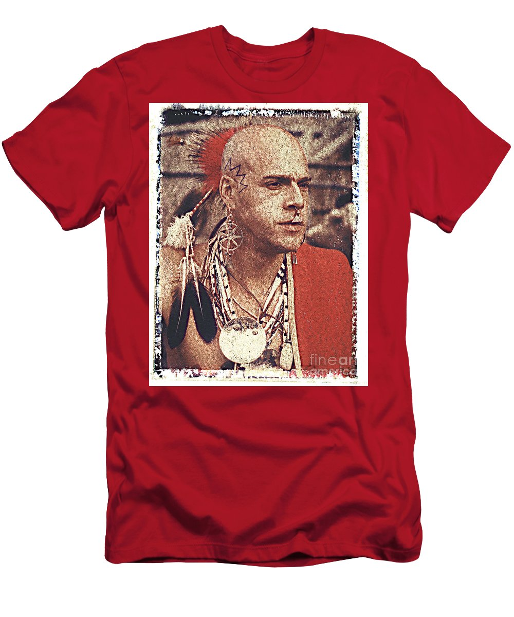 Native American T-Shirt featuring the photograph Native Of New York State by Keith Dillon