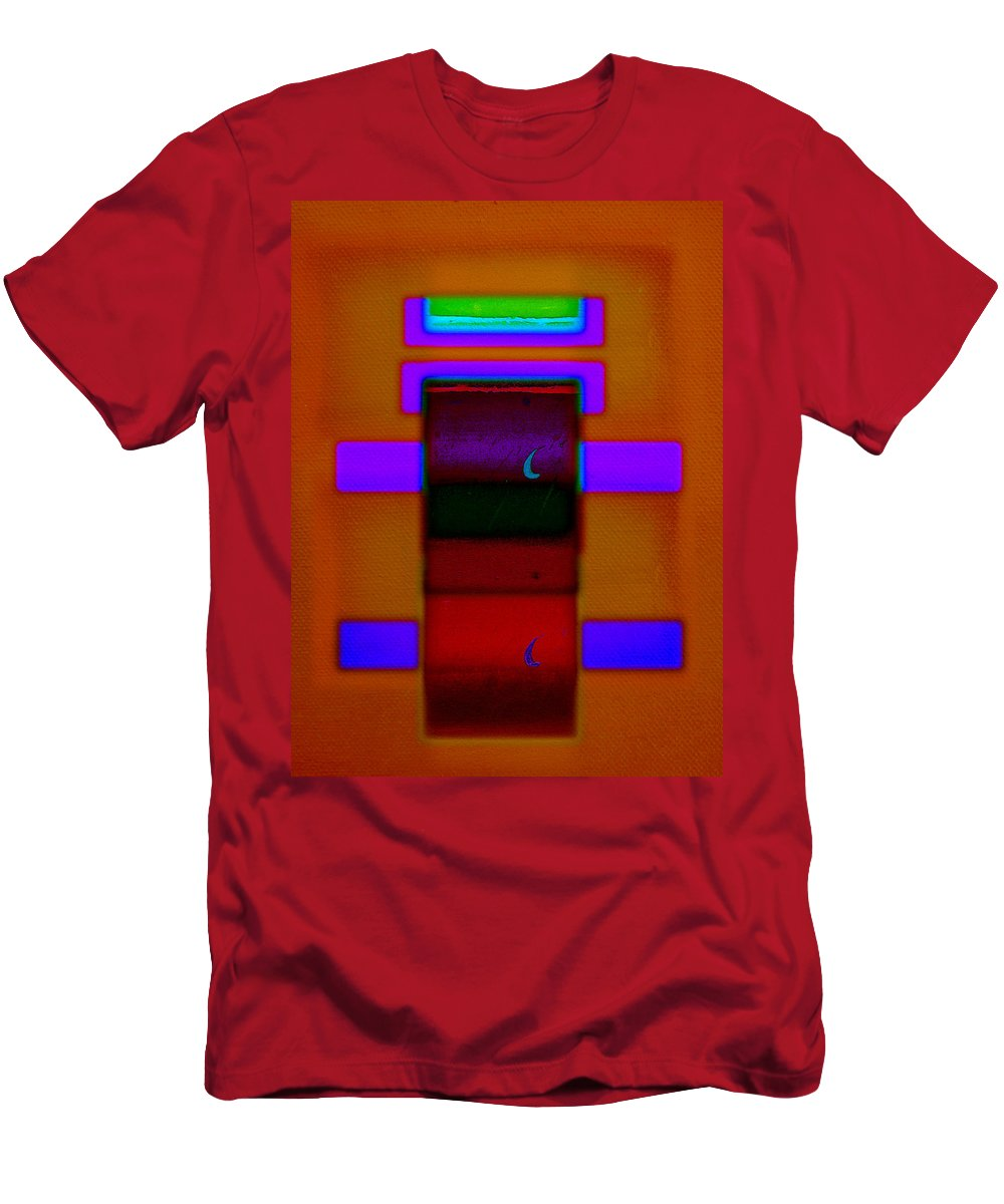 Rothko Men's T-Shirt (Athletic Fit) featuring the painting Night On The Nile by Charles Stuart