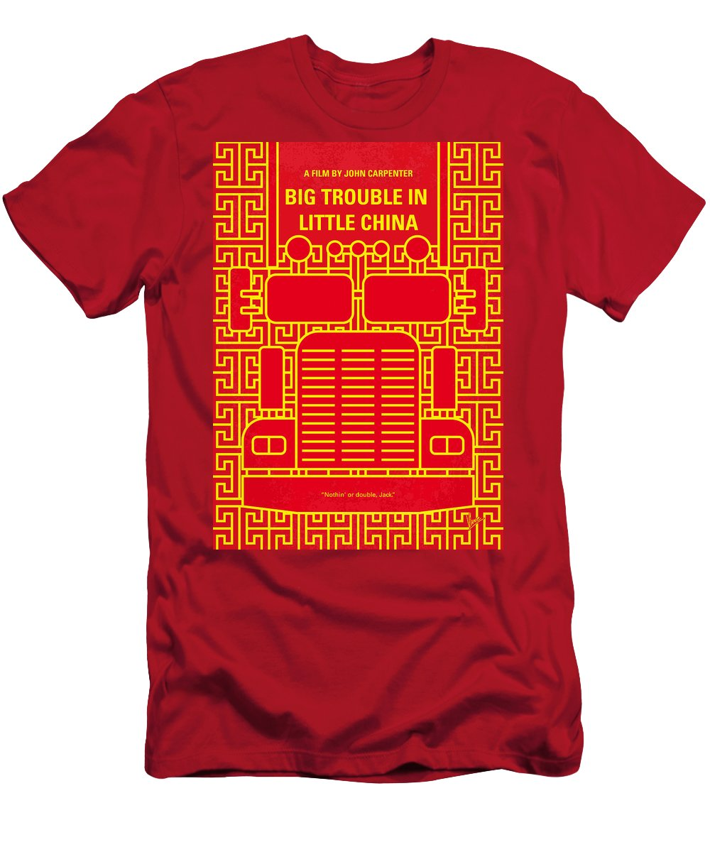 No515 My Big Trouble In Little China Minimal Movie Poster T Shirt For Sale By Chungkong Art