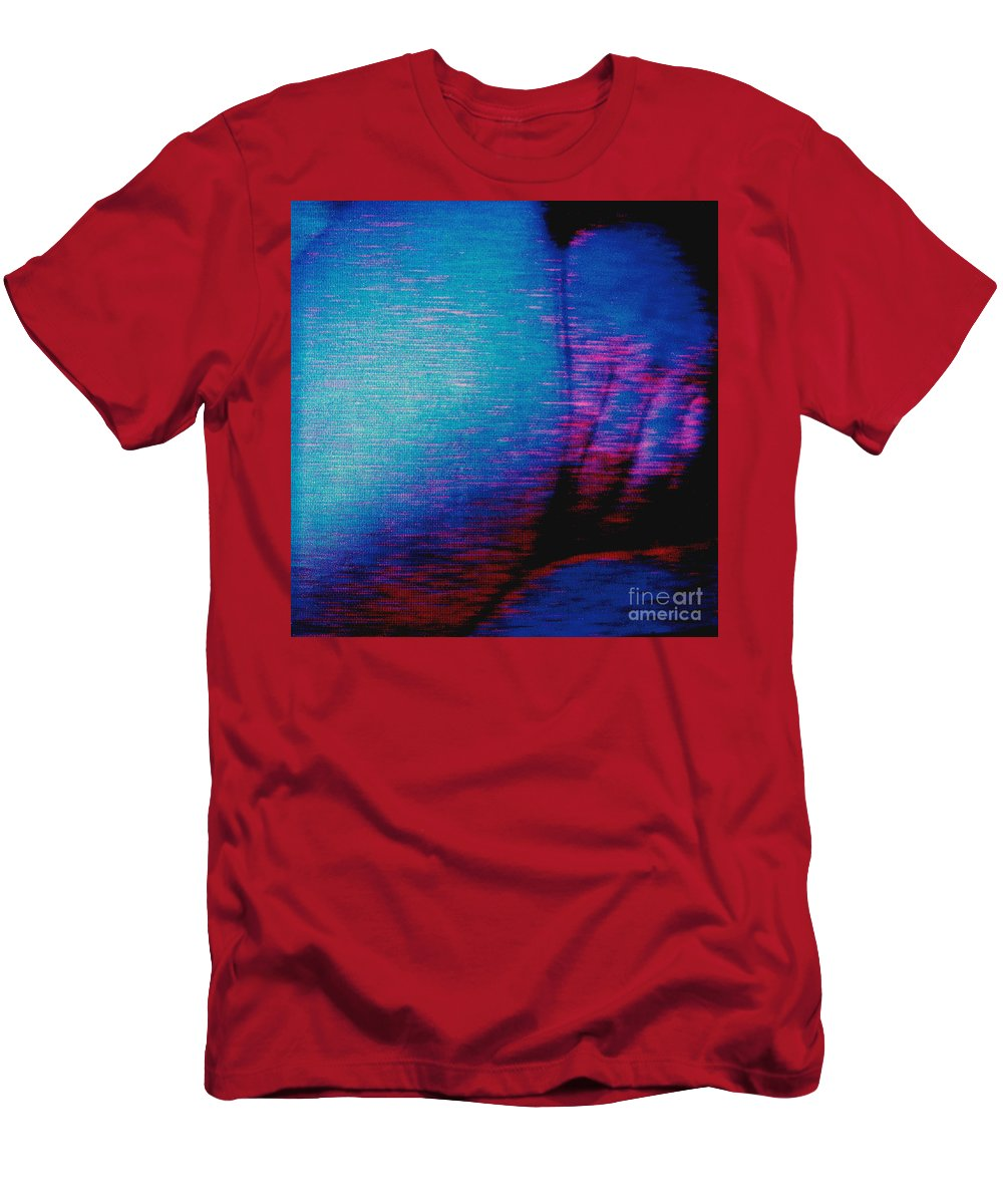 Polaroid Found Art T-Shirt featuring the photograph Not Ready Yet by Keith Dillon