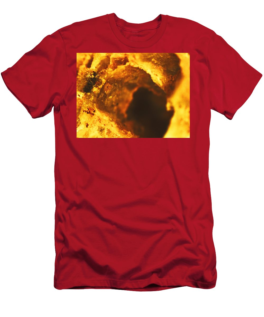 Abstract Men's T-Shirt (Athletic Fit) featuring the photograph Oh Well by Michael Hackney