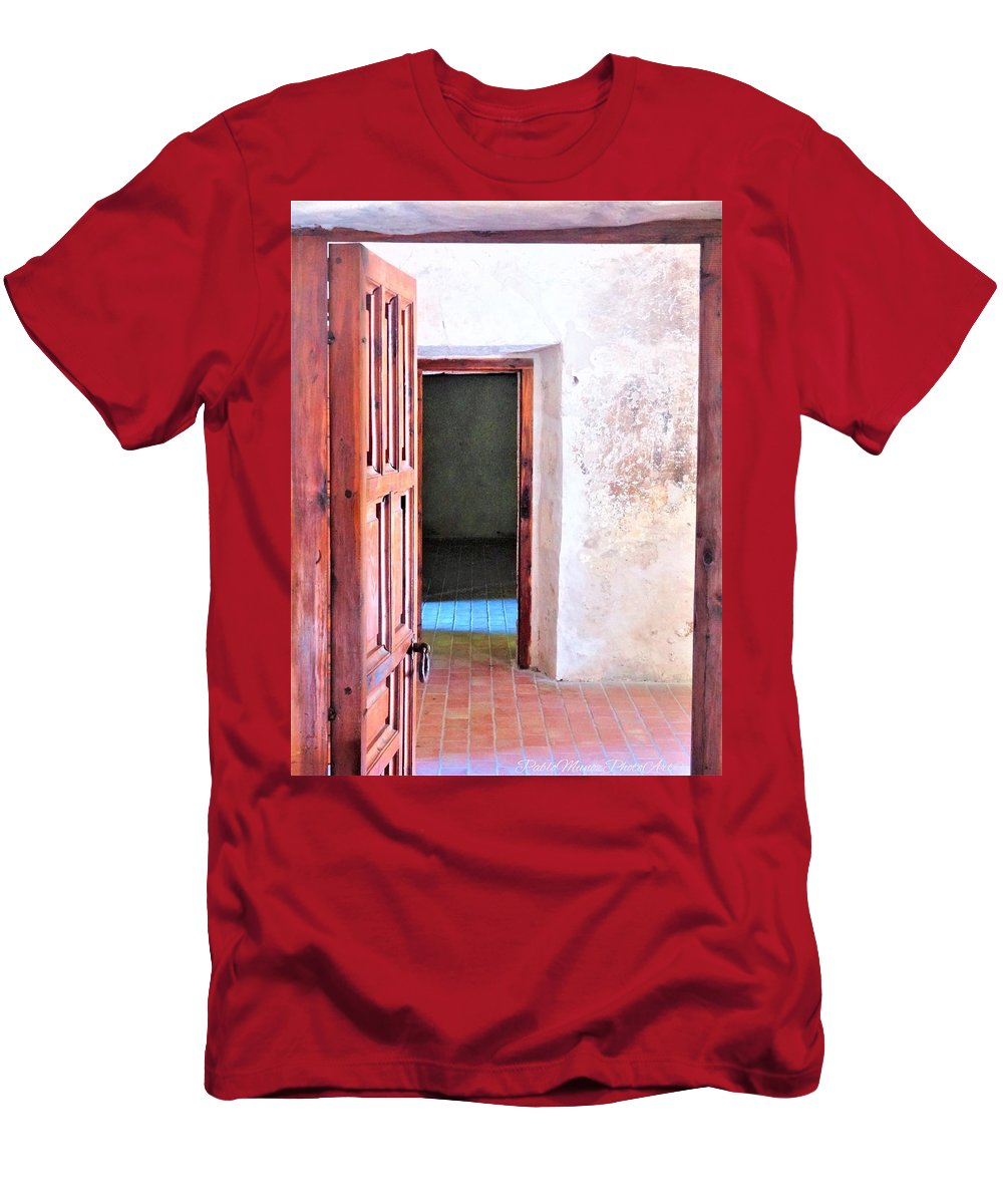 T-Shirt featuring the photograph Other Side by Pablo Munoz