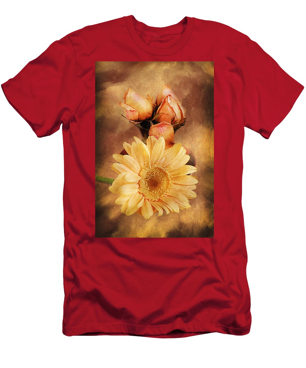 Vintage Men's T-Shirt (Athletic Fit) featuring the photograph Past Life by Georgiana Romanovna