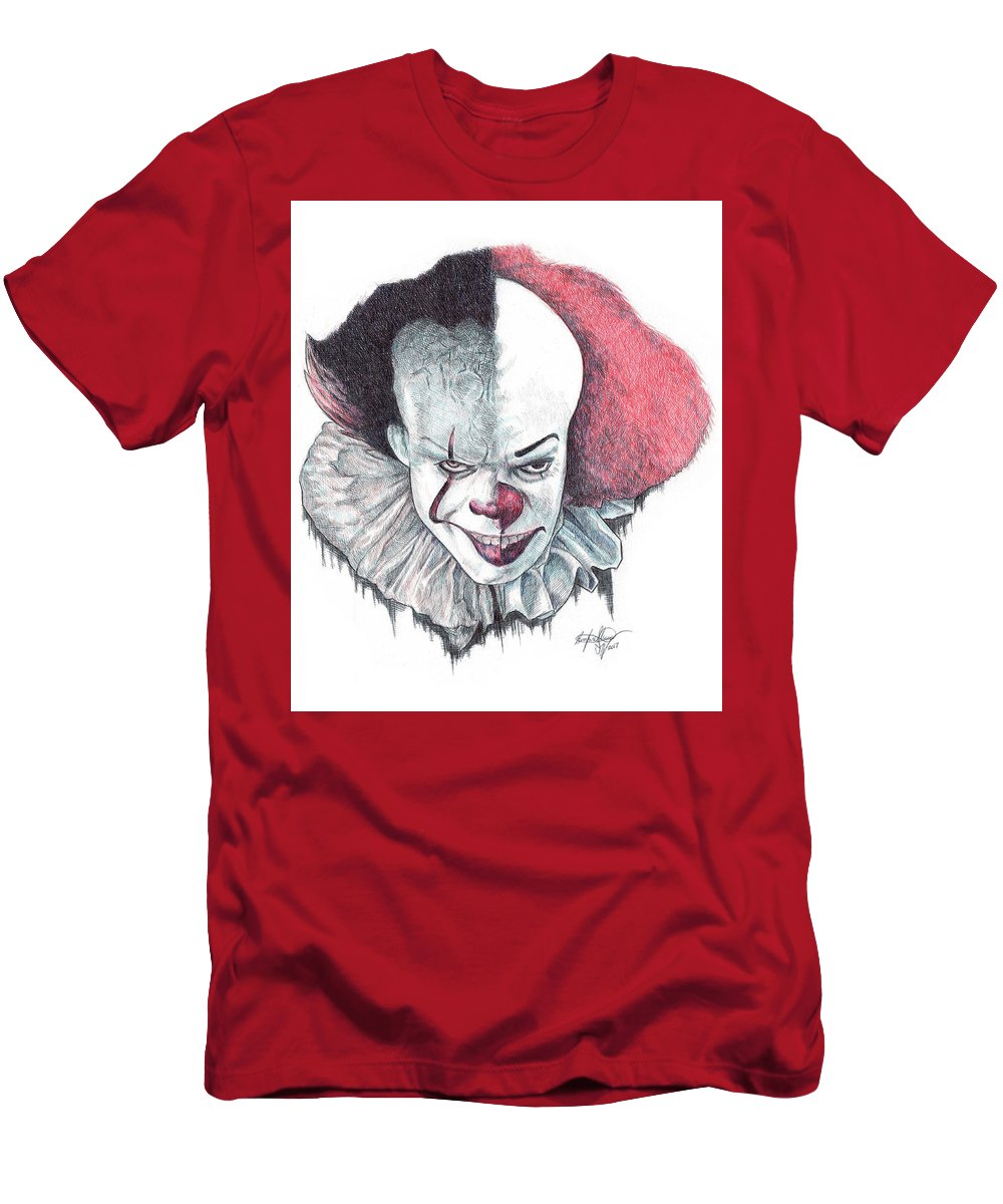 12fc23e6f Pennywise The Clown T-Shirt for Sale by Serafin Ureno