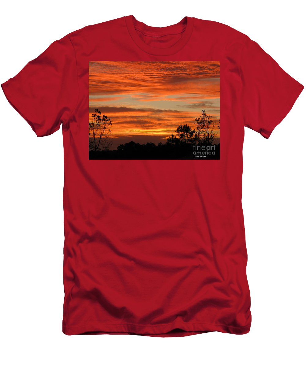 Art For The Wall...patzer Photography Men's T-Shirt (Athletic Fit) featuring the photograph Perfection by Greg Patzer