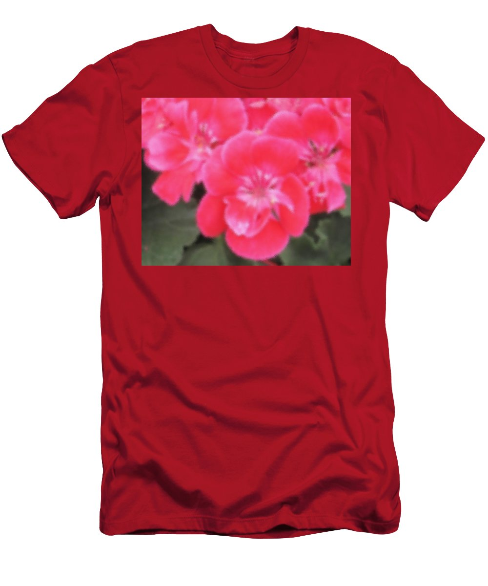 Pink Men's T-Shirt (Athletic Fit) featuring the photograph Pink by Ian MacDonald