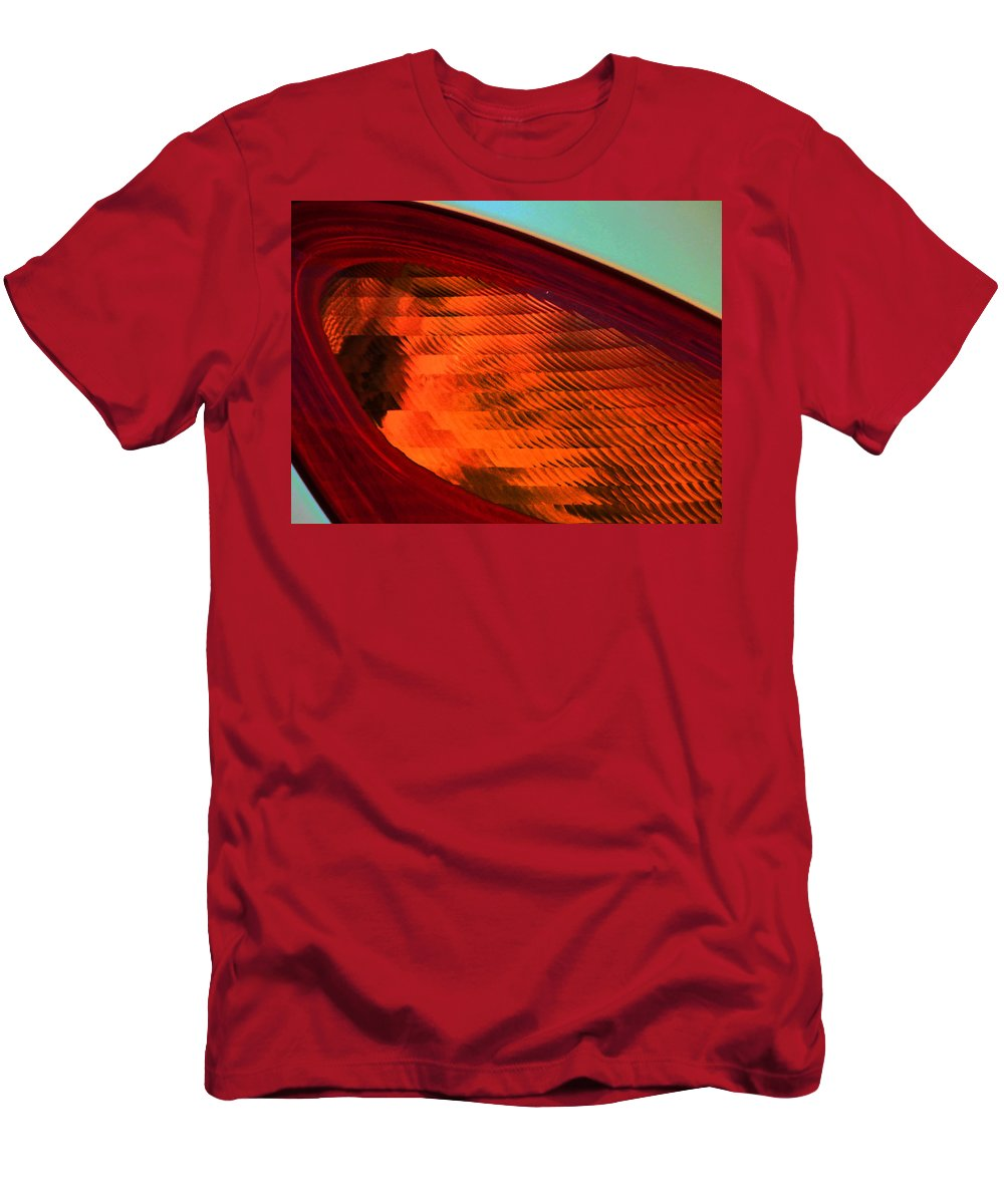 Abstract Men's T-Shirt (Athletic Fit) featuring the photograph Pt Abstract 6 by Lenore Senior