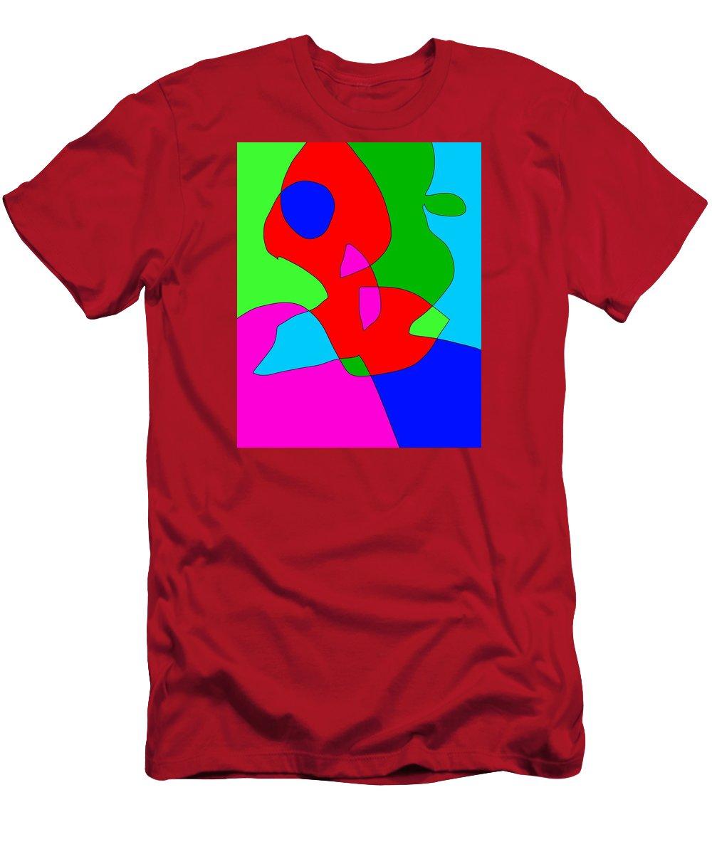 Reginald Men's T-Shirt (Athletic Fit) featuring the digital art Reginalds Resolve by Jeff Gater