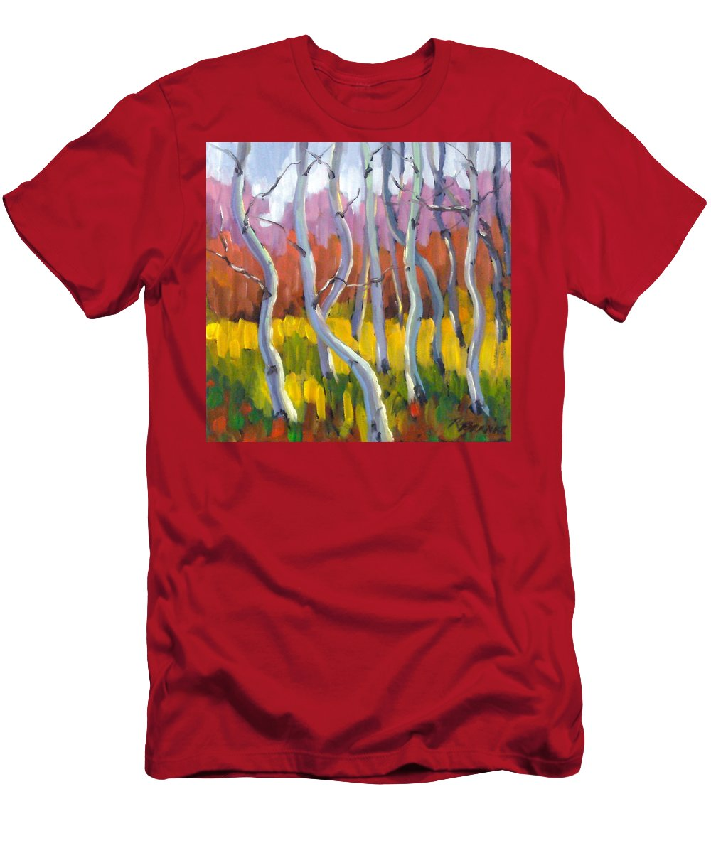 Art T-Shirt featuring the painting Rhapsody no 5 by Richard T Pranke
