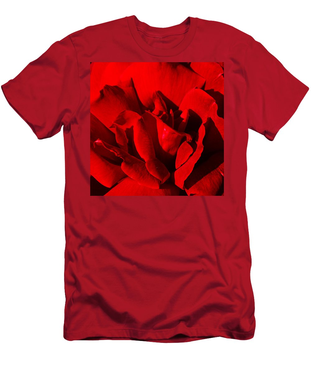 Rose Men's T-Shirt (Athletic Fit) featuring the photograph Rose 2 by Anthony Jones