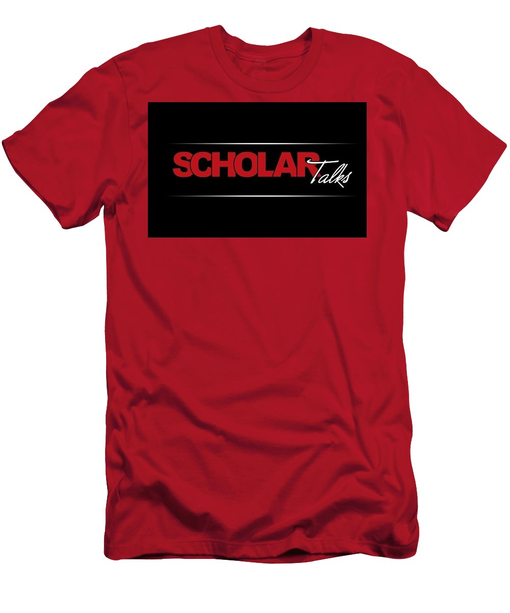 Scholartalks Men's T-Shirt (Athletic Fit) featuring the photograph Scholar Talks - Harsh Malik by Harsh Malik