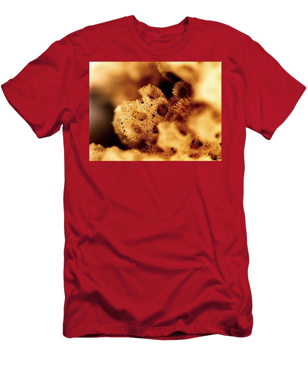 Abstract Men's T-Shirt (Athletic Fit) featuring the photograph Sea Home by Michael Hackney
