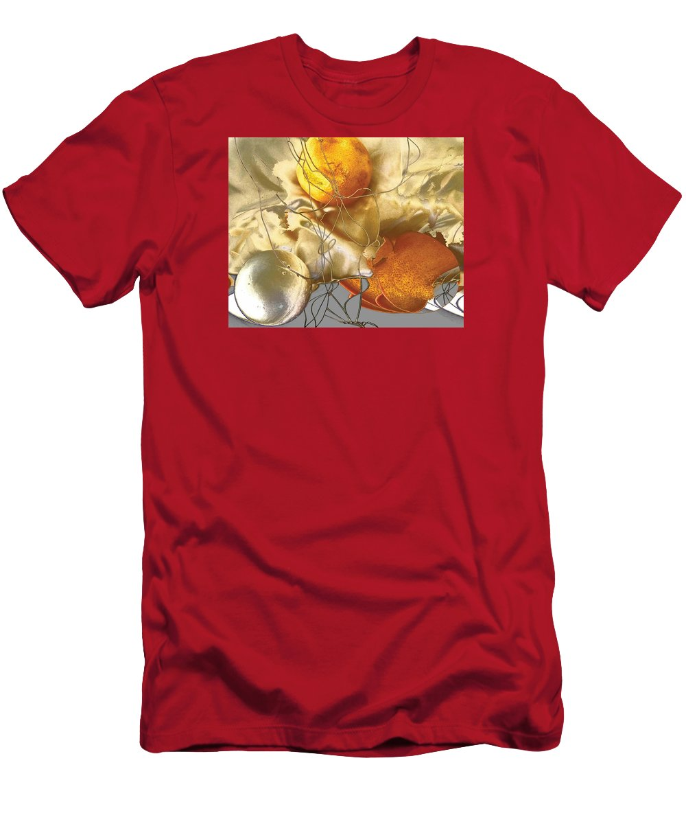 Stokcen Phobiya Is To Be Scared Of Round Objects. T-Shirt featuring the photograph Stocken Phobia by Evguenia Men