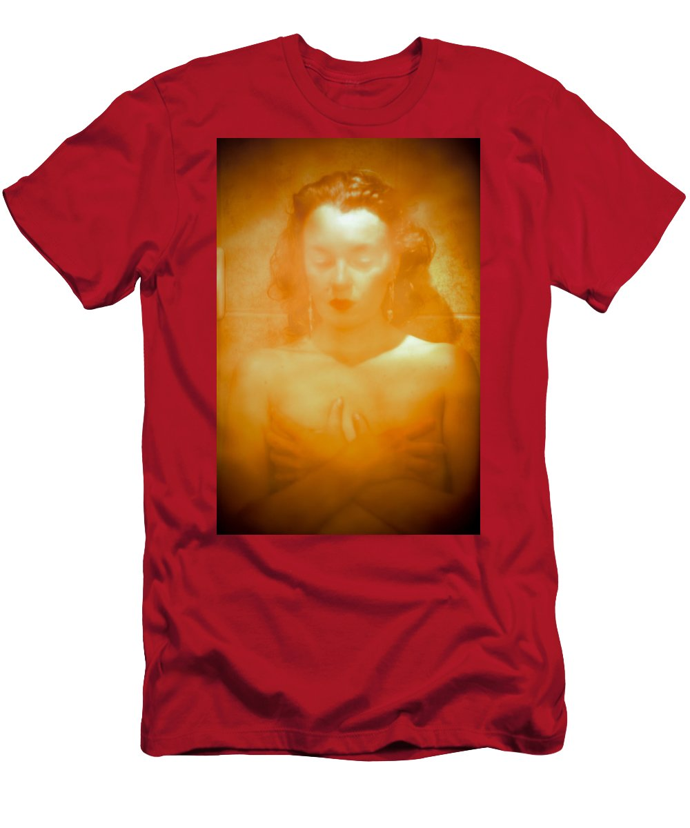Woman Men's T-Shirt (Athletic Fit) featuring the photograph Subdued Glamor by Scott Sawyer