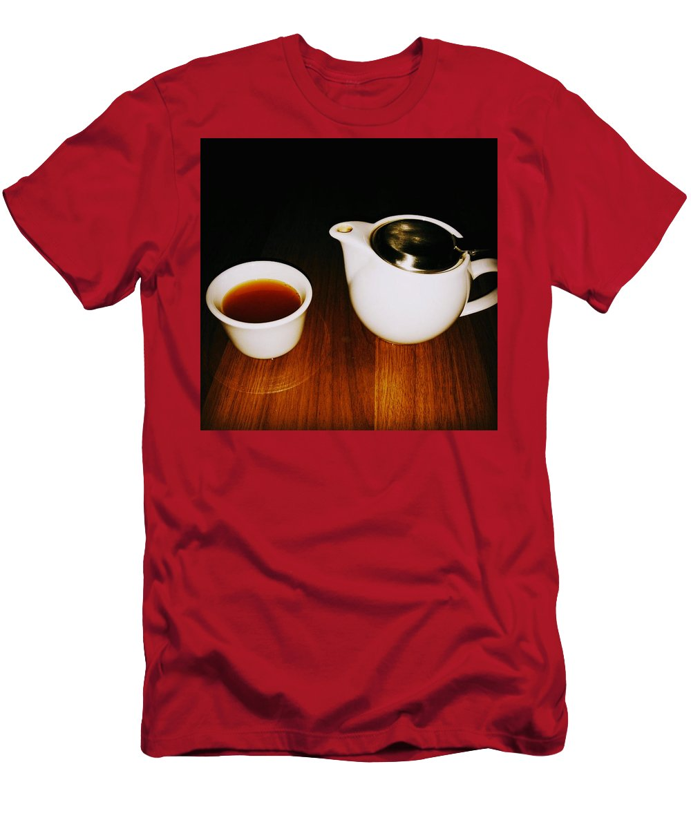 Tea Lovers T-Shirt featuring the pyrography Tea-juana by Albab Ahmed