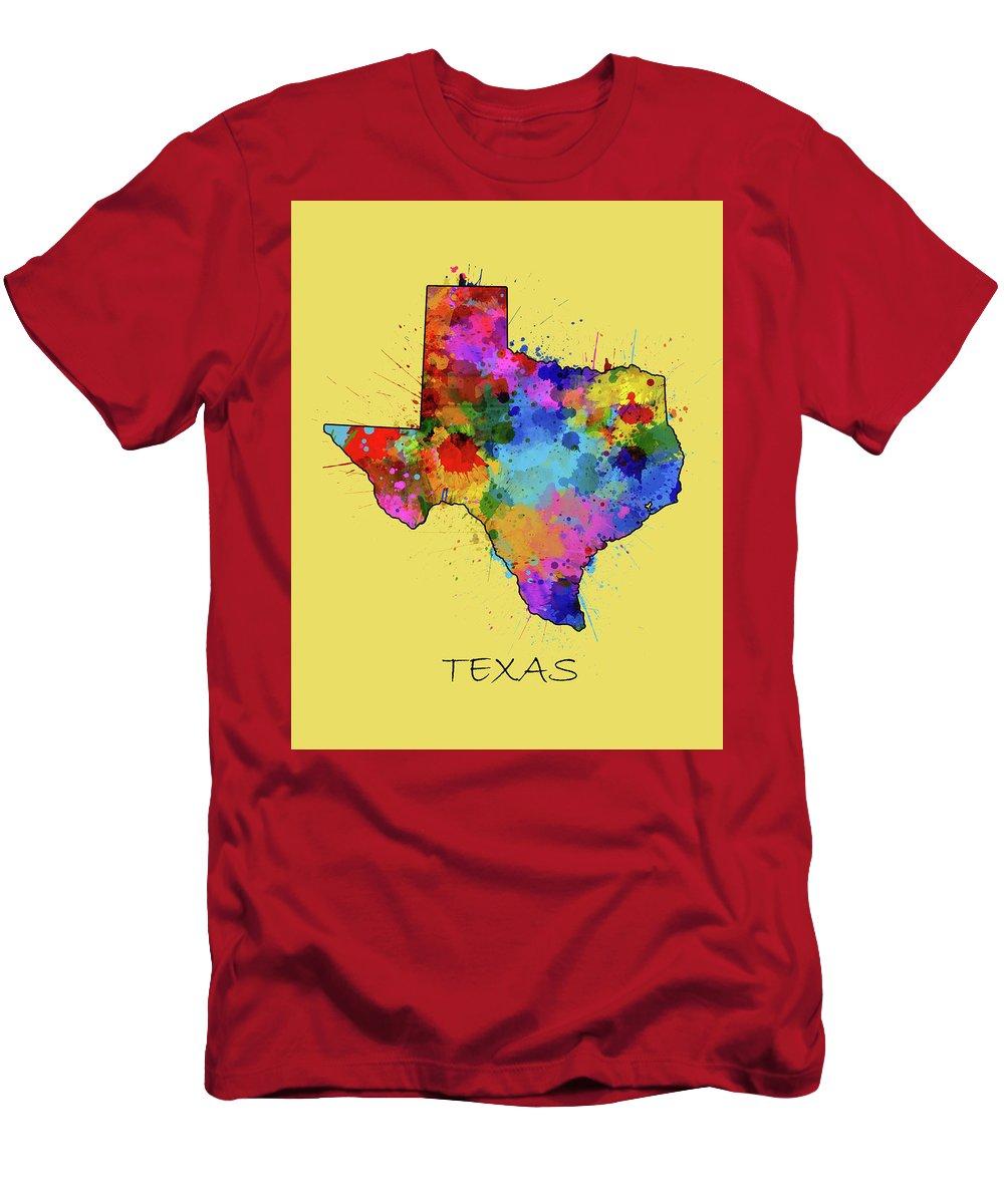Central Texas Digital Art T-Shirts