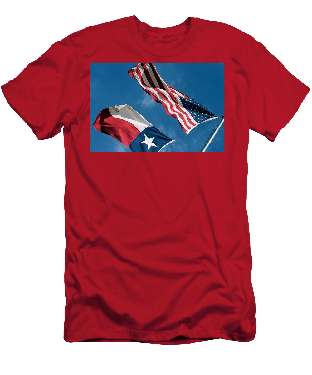 American Men's T-Shirt (Athletic Fit) featuring the photograph Texas Sky by Kevin Wright