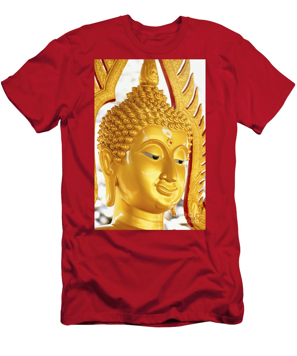 Art Men's T-Shirt (Athletic Fit) featuring the photograph Thailand, Pathom Thani by Bill Brennan - Printscapes