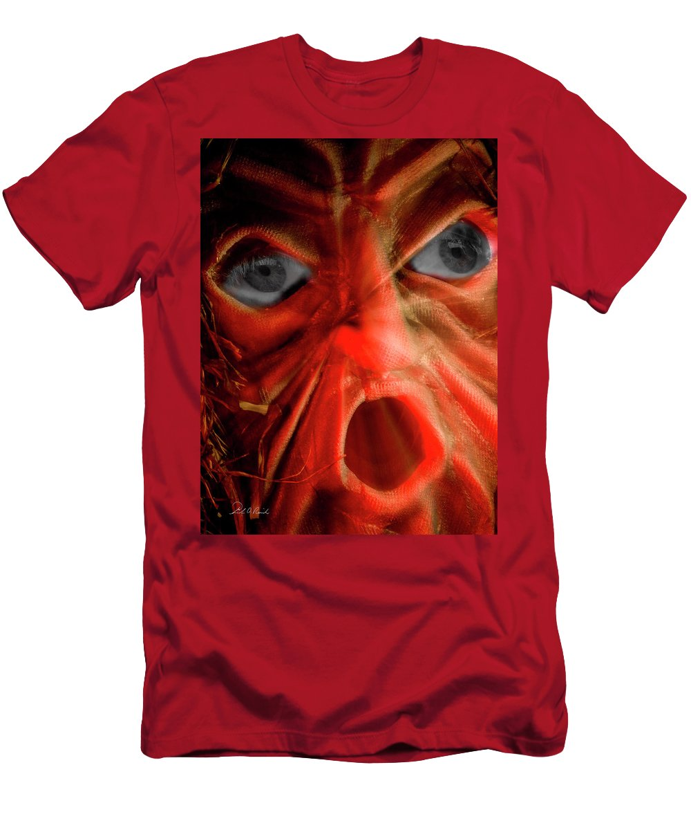Photography Men's T-Shirt (Athletic Fit) featuring the photograph The Eyes Have It by Frederic A Reinecke