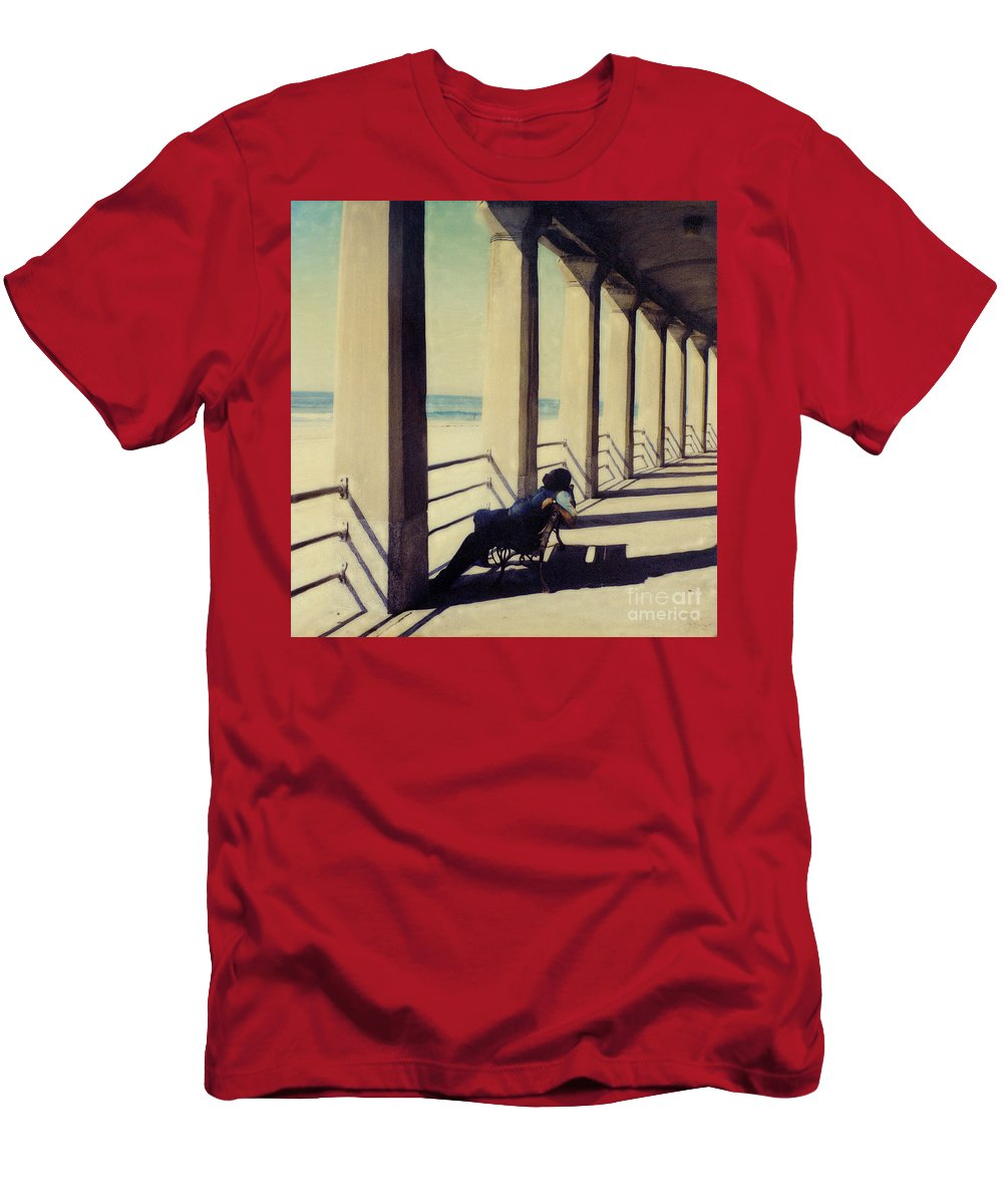 Seashore T-Shirt featuring the photograph The Nap by Keith Dillon