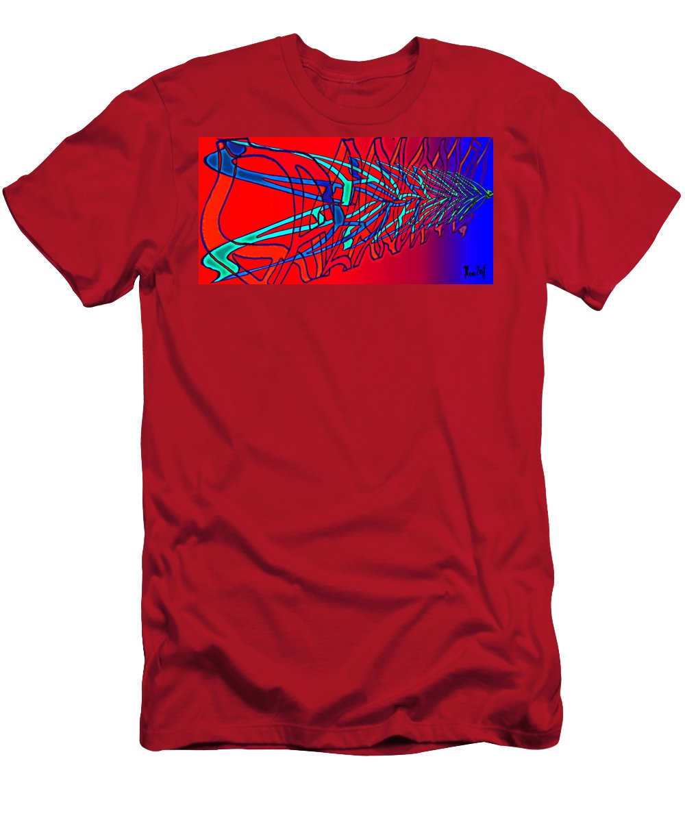C2 Men's T-Shirt (Athletic Fit) featuring the digital art The Risc Of Alcohol by Helmut Rottler