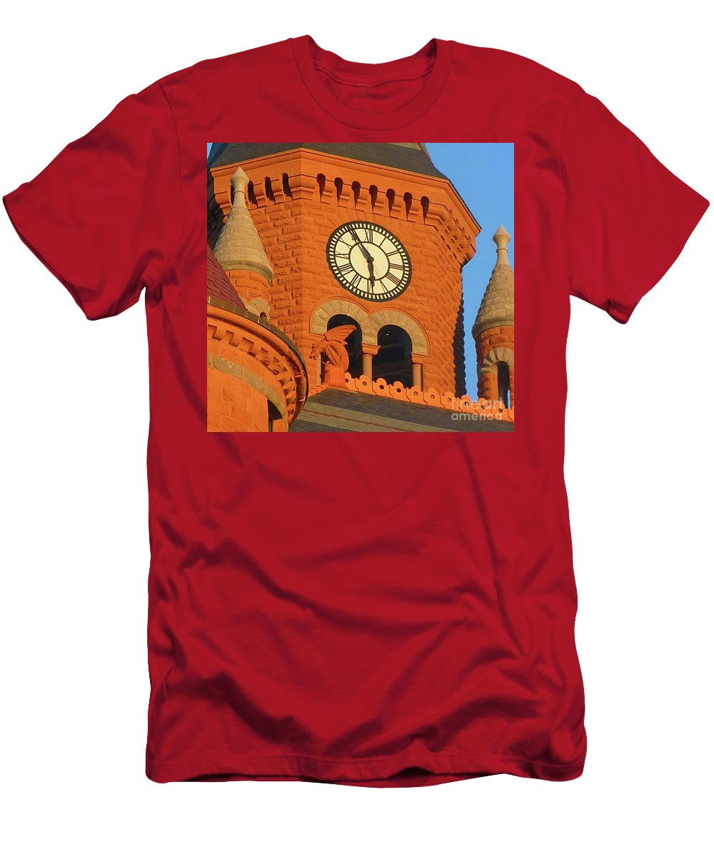 Time Men's T-Shirt (Athletic Fit) featuring the photograph Time by Angela Wright