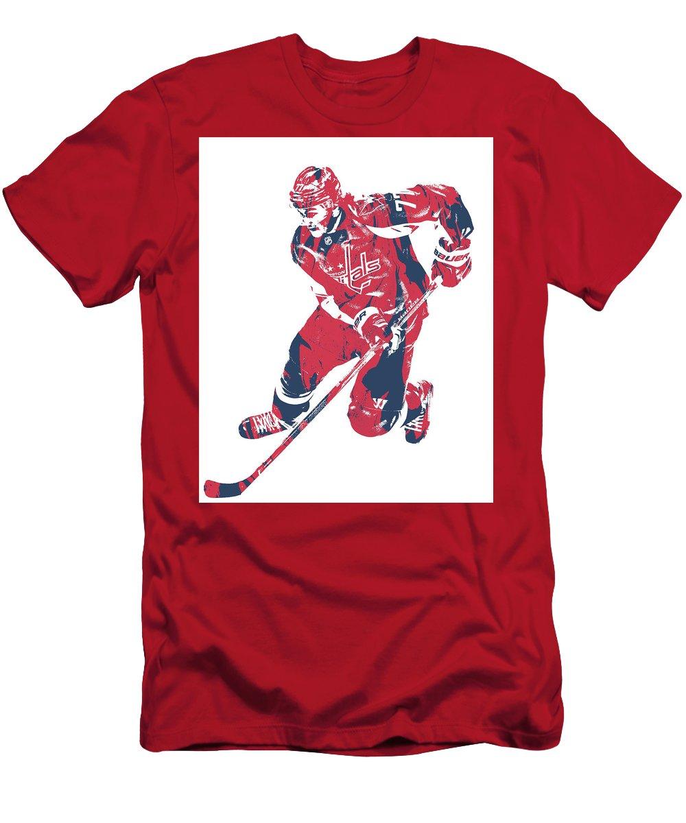 100% authentic 614f3 6514e Tj Oshie Washington Capitals Pixel Art 10 Men's T-Shirt (Athletic Fit)