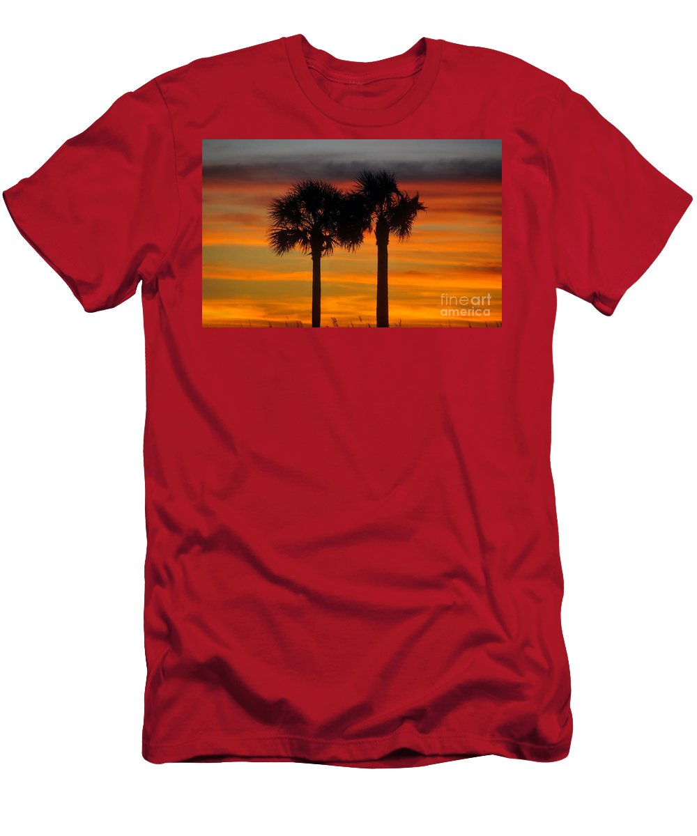 Together Men's T-Shirt (Athletic Fit) featuring the photograph Together by David Lee Thompson