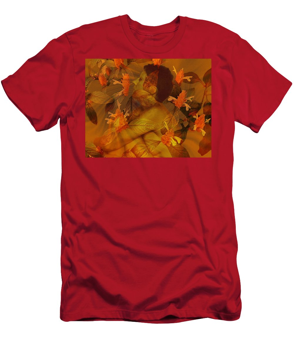 Nudes Men's T-Shirt (Athletic Fit) featuring the photograph Tranquility by Kurt Van Wagner