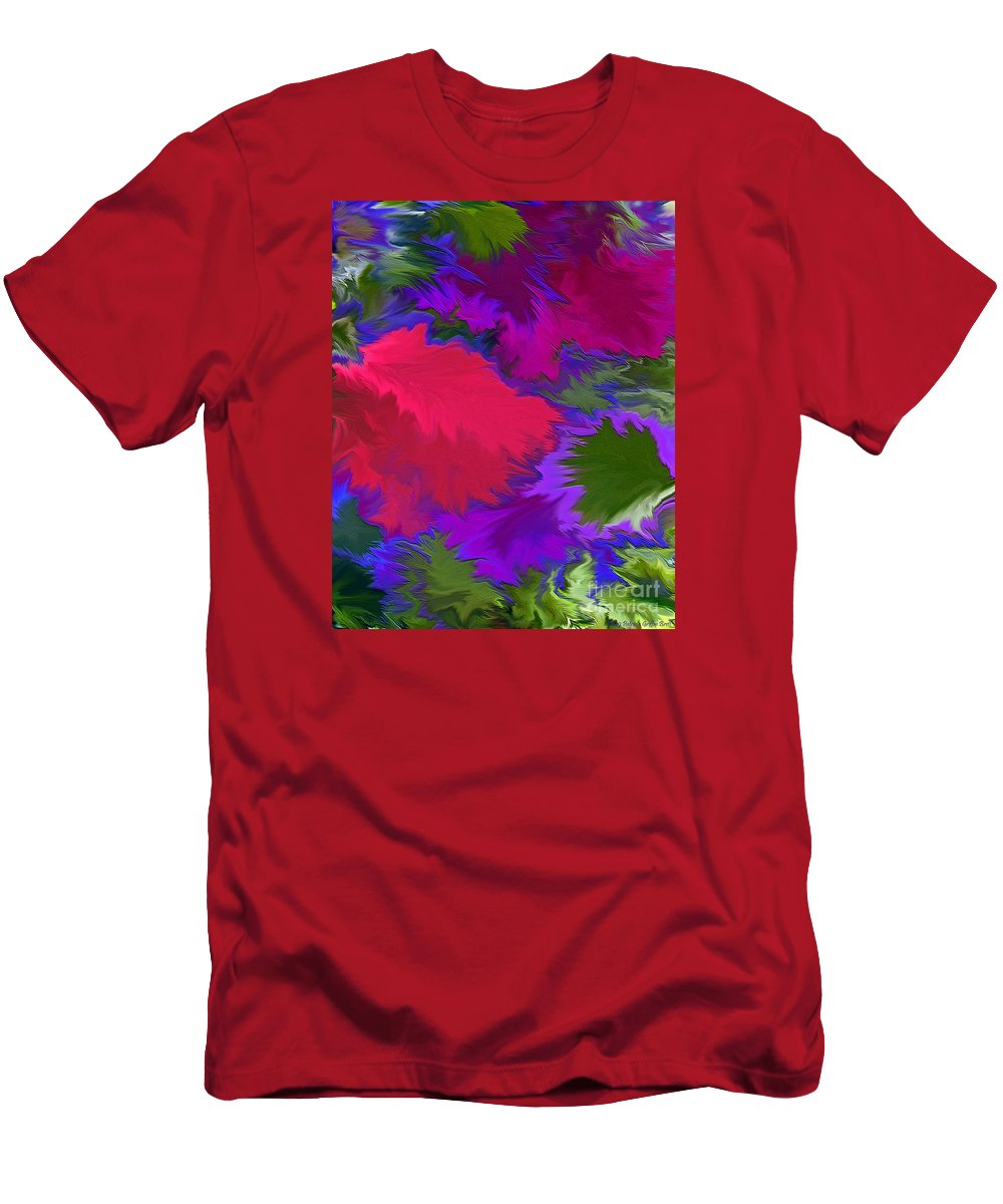 Mixed Media Art Men's T-Shirt (Athletic Fit) featuring the photograph Tropicana by Patricia Griffin Brett