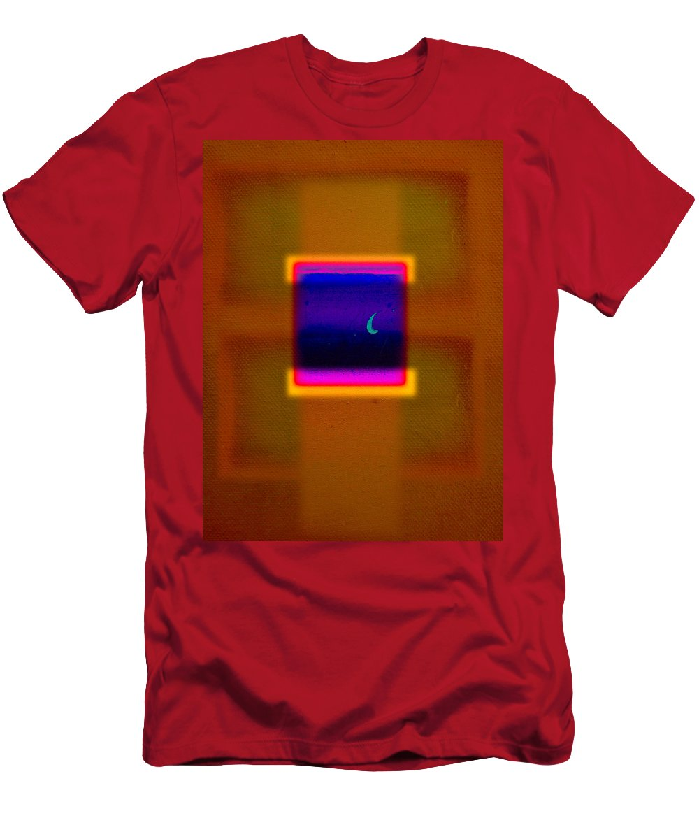 Rothko Men's T-Shirt (Athletic Fit) featuring the painting View by Charles Stuart