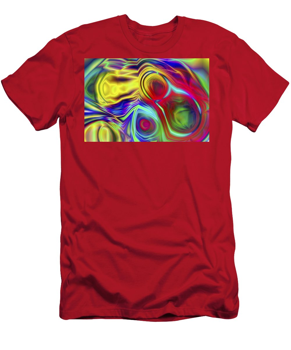 Crazy T-Shirt featuring the digital art Vision 10 by Jacques Raffin