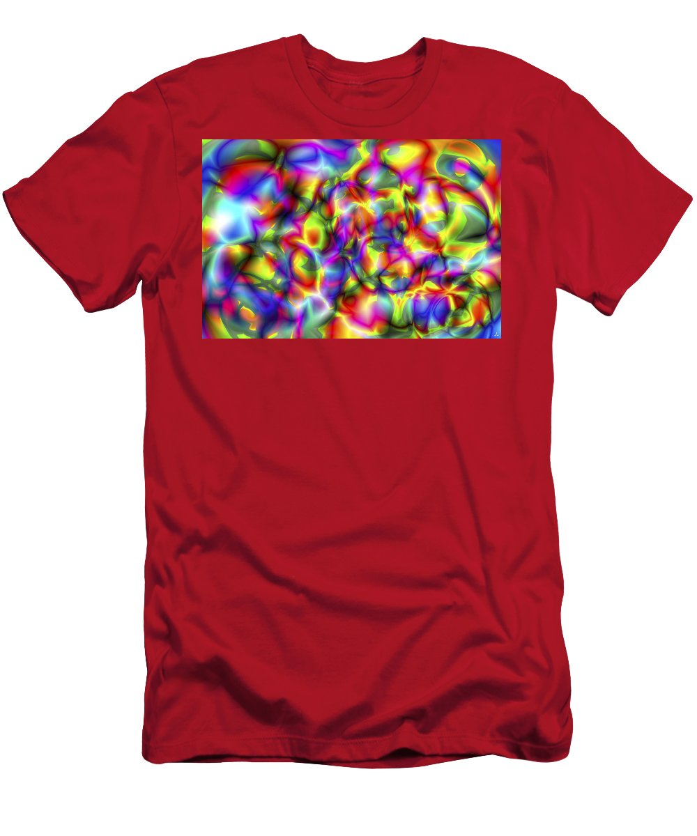 Crazy T-Shirt featuring the digital art Vision 2 by Jacques Raffin