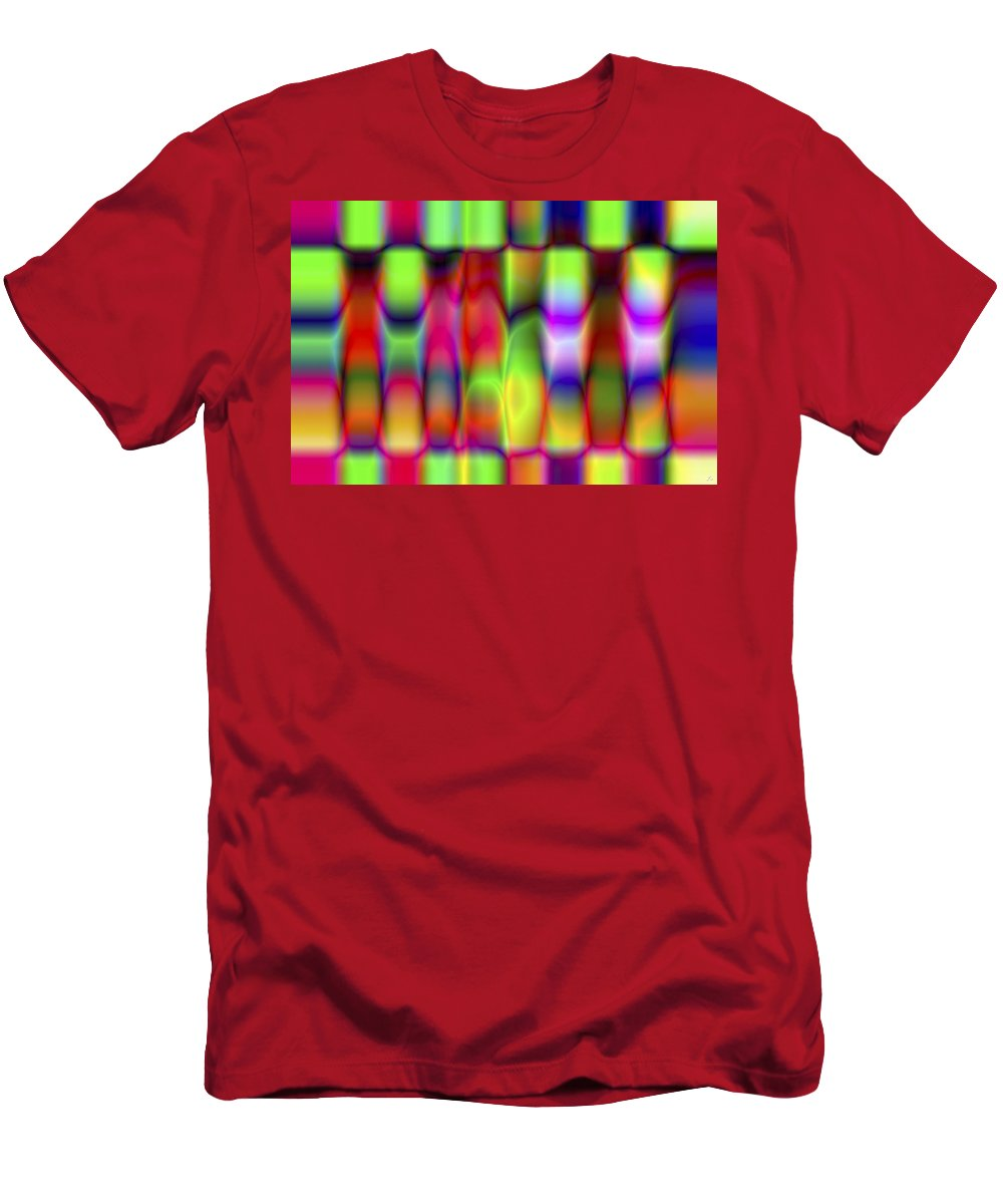 Crazy T-Shirt featuring the digital art Vision 9 by Jacques Raffin